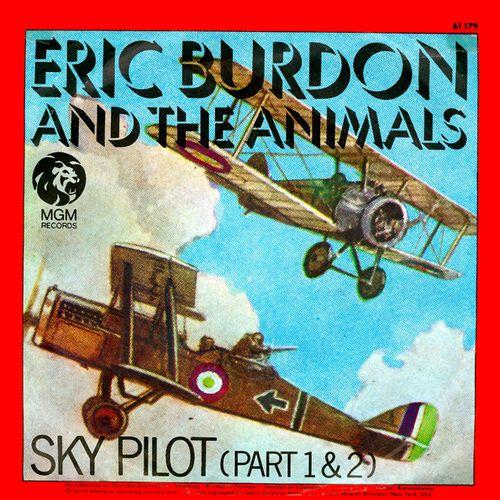 Sky Pilot - Portada del 45
