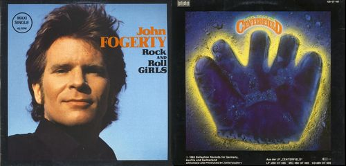 Rock and Roll Girls - Centerfield (45 R.P.M.) Portada
