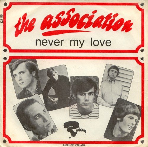 The Association - Never my love (portada)