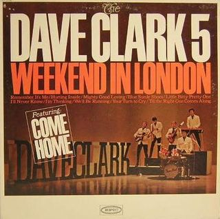 The Dave Clark 5 - Weekend In London