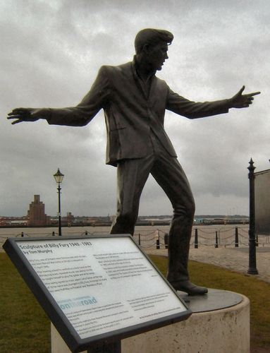 Estatua de Billy Fury