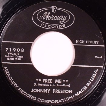 Johnny Preston - Free Me