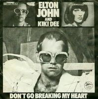 Elton John And Kiki Dee (Portada)