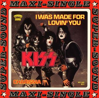 Kiss - I wa Made for lovin' you - Maxi Single