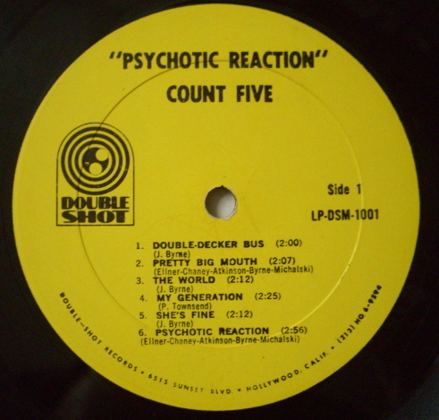 Psychotic Reaction - L.P (Lado A)