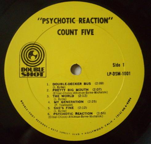 Psychotic Reaction - L.P (Lado A)
