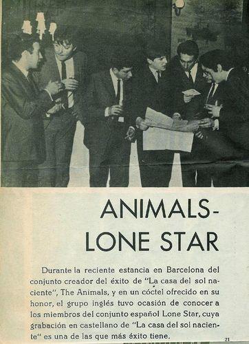 The Animals con Lone Star