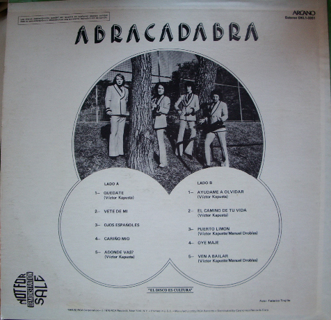 Abracadabra - Arcano (Atrás)