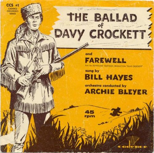 Bill Hayes - The Ballad Of Davy Crockett (Portada)