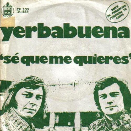 Yerbabuena - Sé que me quieres (Promocional)